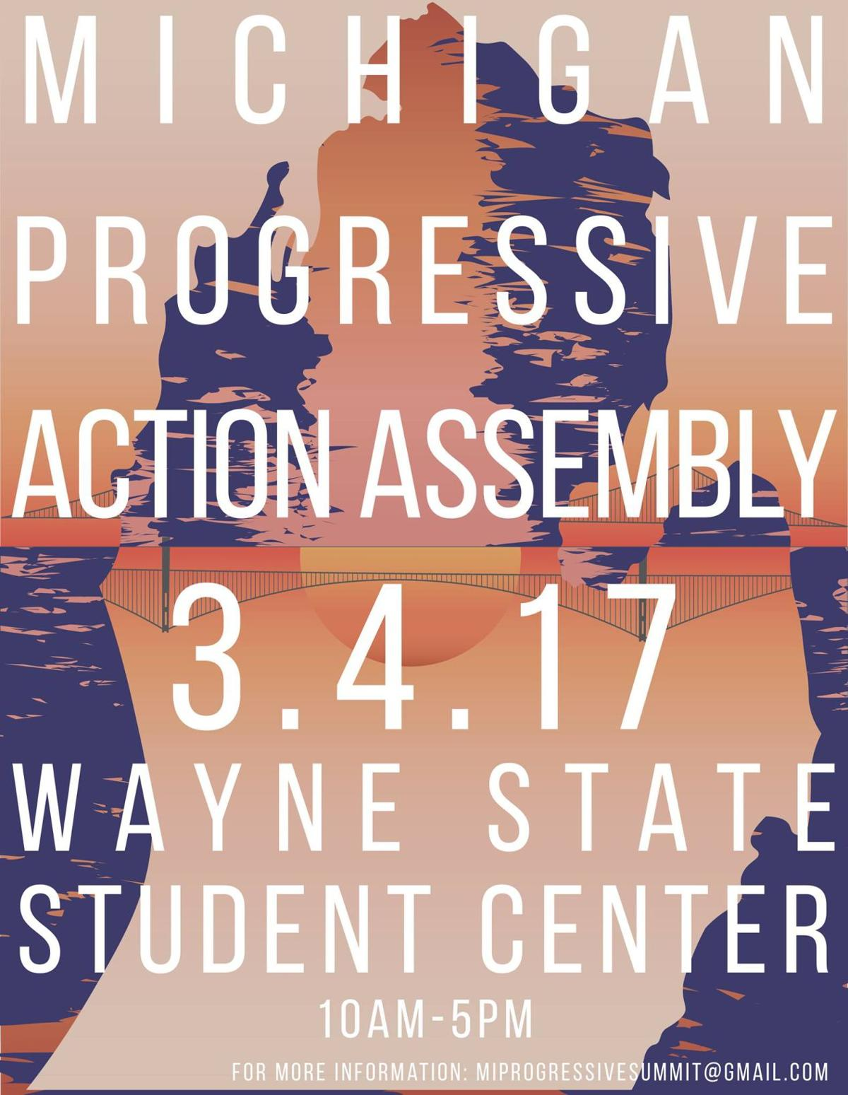 """I hope that Wayne State organizations will come out to participate and join this coalition."