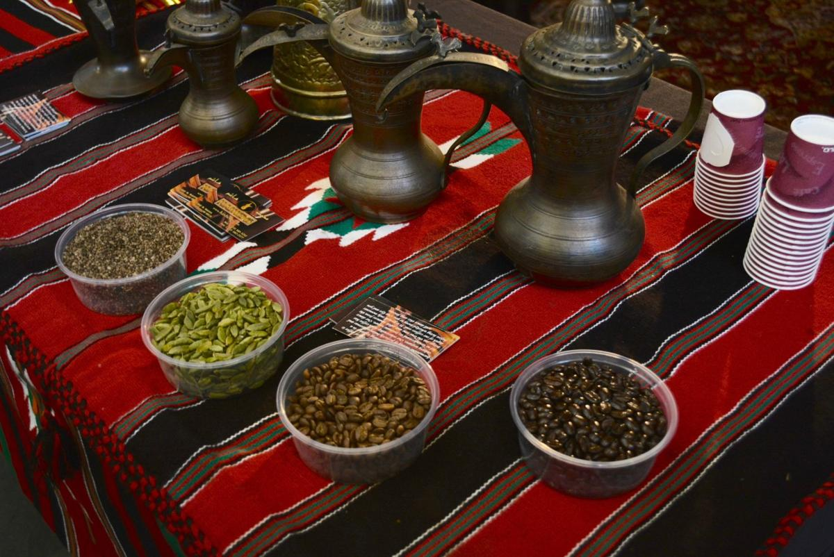 The International Coffee and Tea festival hosted by the Detroit Institute of Arts featured coffee and tea from around the world including Turkish coffee, Japanese tea ceremonies and Lebanese line and belly dancing performances.