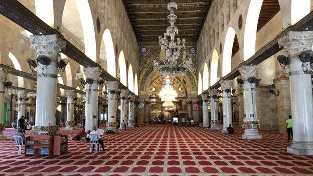 Al-Aqsa Mosque Interior