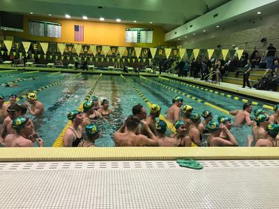 WSU swim teams win home finale with record-breaking performances