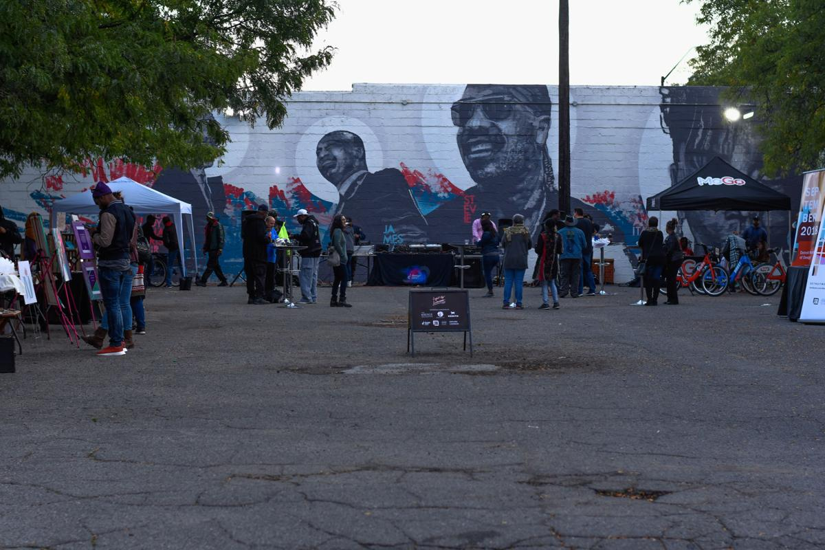 Light Up Livernois Main Block