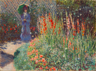 """It's cool that it's [Monet exhibit] here at the DIA, and to have these big, fancy and famous artists."""