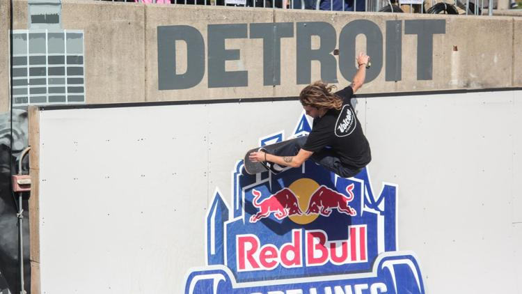 Red Bull Hart Lines skating competition returns to Hart Plaza for the third year