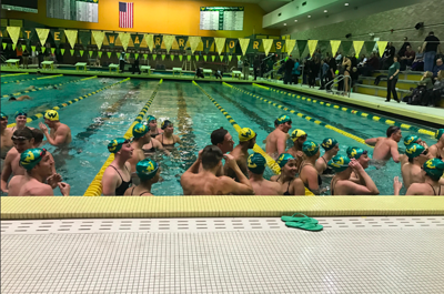 WSU men's and women's swim and dive win home opener