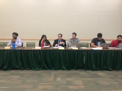 Student Senate elects new president