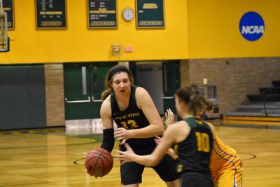 Injuries mount up as women's basketball split series