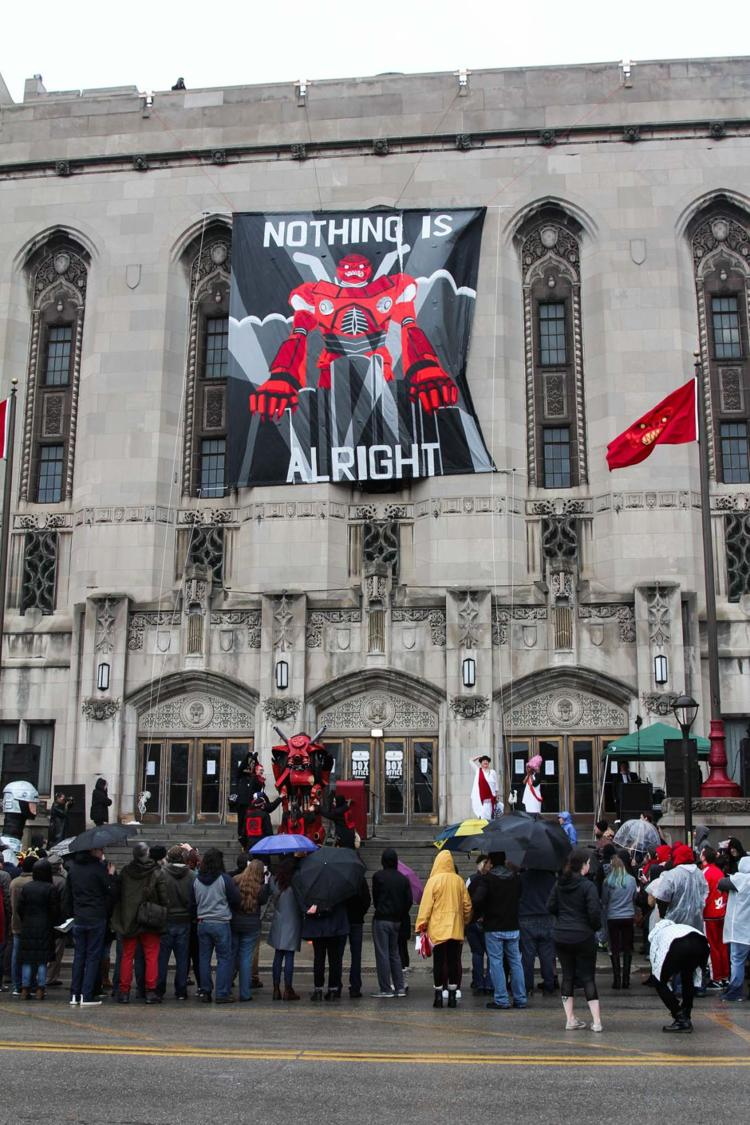 Detroiters brave the weather to celebrate Marche du Nain Rouge