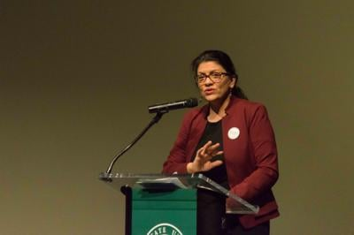 Rashida Tlaib: 'I truly believe canceling student debt is a racial justice issue'