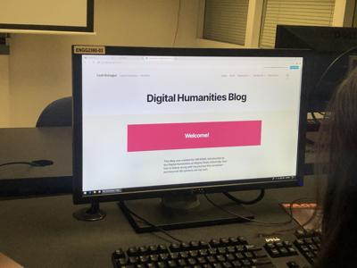 Digital Humanities minor merges technology with social science