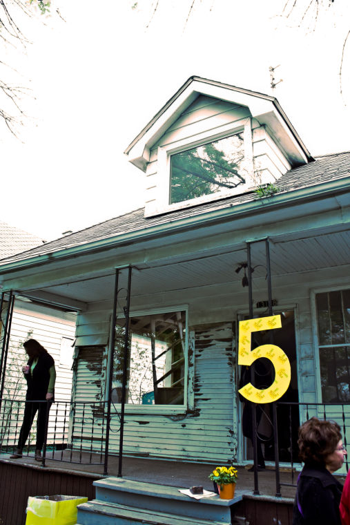 Five University Of Michigan Architecture Teaching And Research Fellows Last  Year Bought This House On Moran Street Near The Detroit/Hamtramck Border  For ...