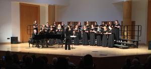 WSU choir performs fall concert
