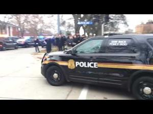 Sgt. Collin Rose's funeral in Saint Clair Shores