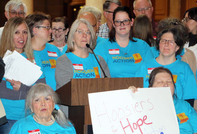 Hoosier Action brings HOPE to Indiana Statehouse