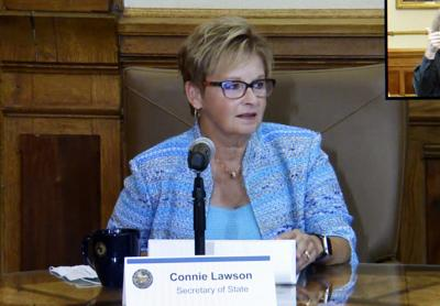 Connie Lawson, Indiana's top election official, announces resignation