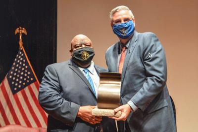 Governor honors Reginald Jones with Sachem Award