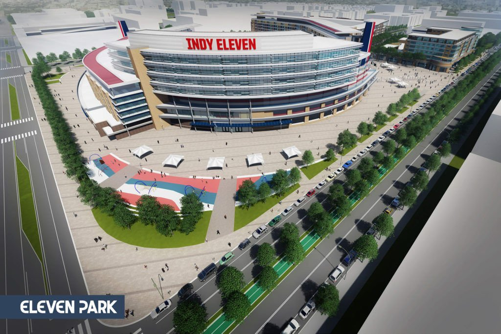 Indianapolis could get an entire new neighborhood along with a soccer stadium for Indy Eleven
