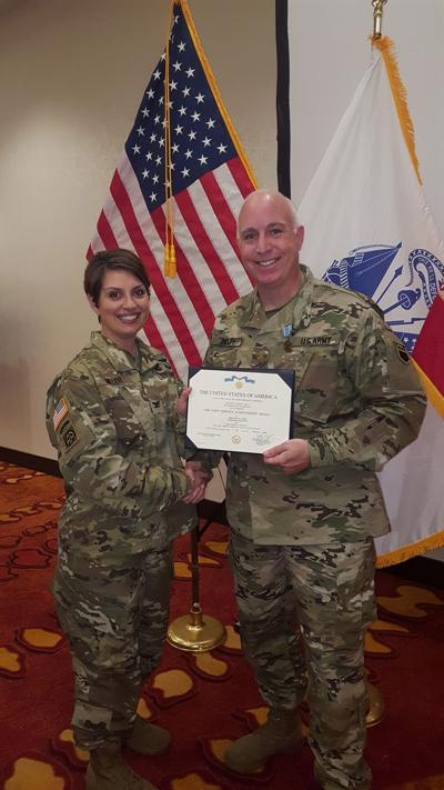 Delph recognized for service during Hurricane Maria