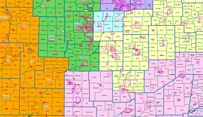 Critics decry new Indiana and U.S. House maps as gerrymandered