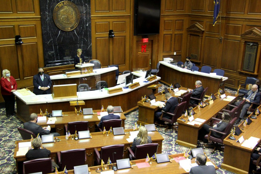 Indiana's electors cast votes for Trump-Pence