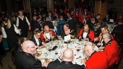Veterans give back at Remembrance Day Dinner