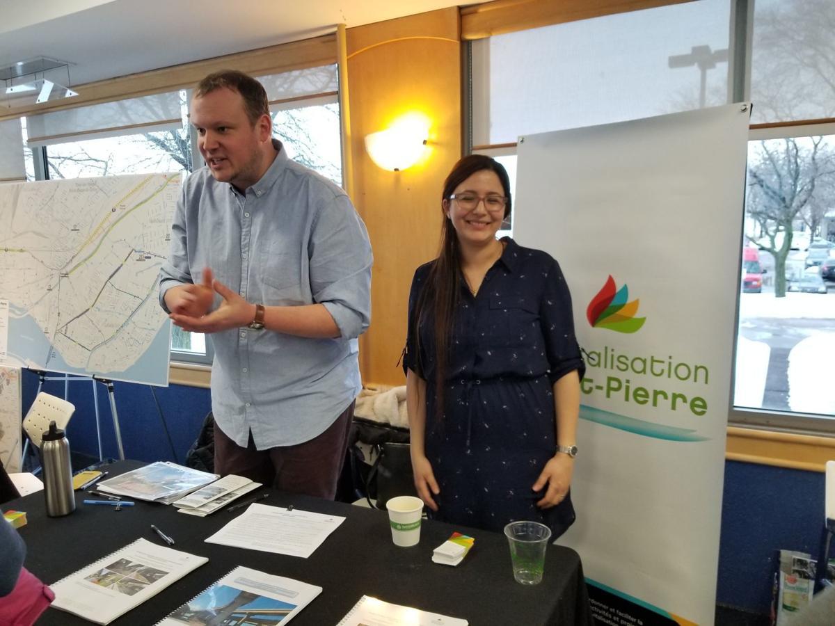 Revitalisation Saint-Pierre Table at Lachine East Consultation