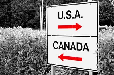 Forty per cent of Canadians want Canada-U.S. border to reopen and U.S. travel advisories removed