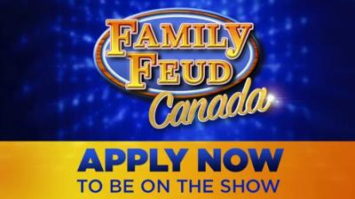 Entertainment: CBC'S Family Feud Canada kicks off nationwide search for Canadian families to compete this fall