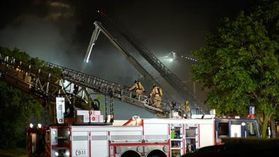 Almost 150 homes evacuated due to fire in DDO