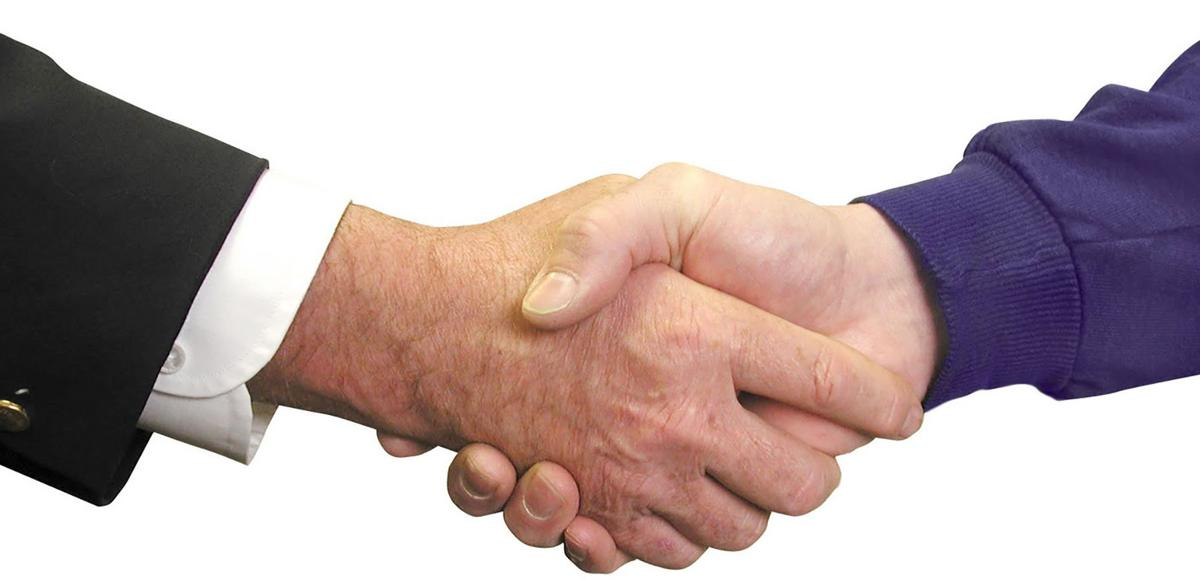 Bernard Mendelman: Should I handshake, hug or kiss?