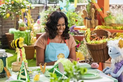 Michelle Obama launching a kid-friendly cooking show on Netflix