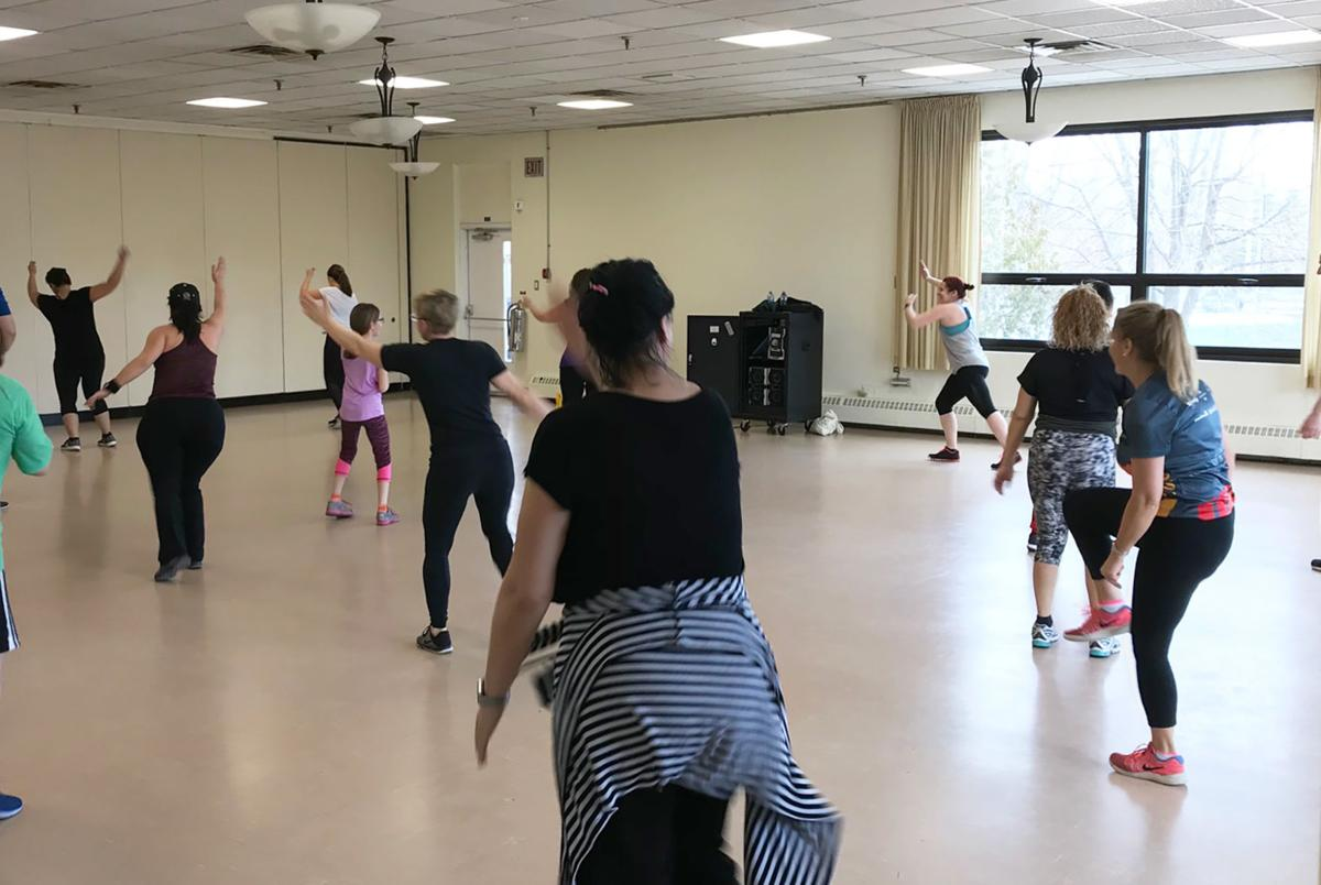Family Zumba event for MS collected funds for May 26 Walk