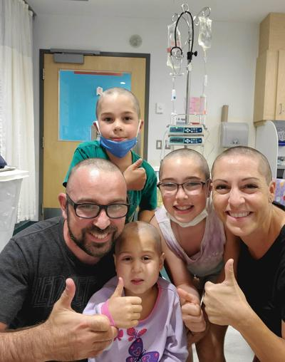 A six-year-old's courageous battle with liver cancer