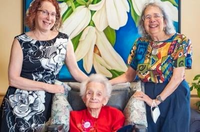 CSL resident Cecile Klein, Canada's oldest person, celebrates 114th