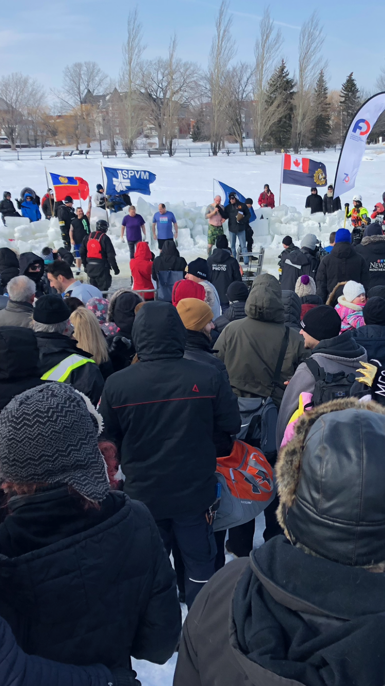 Smoking COLD - the Special Olympics 11th edition of the Polar Bear challenge