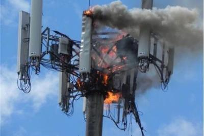 Cell phone tower attacks in the greater Montreal area