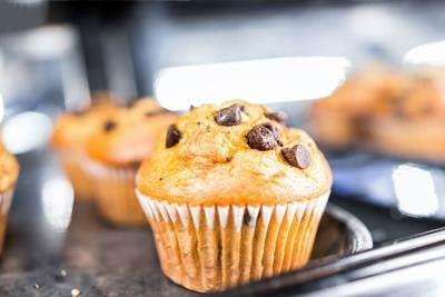 Recipe: Chocolate chip muffins that are just like the bakery ones