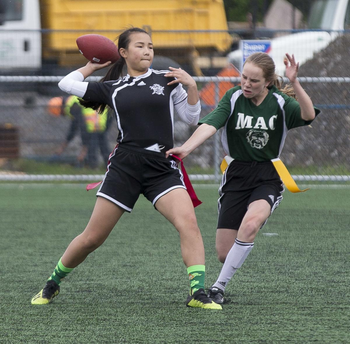 Trojans take tight flag final for repeat GMAA title