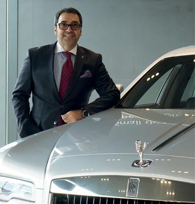 George Angelopoulos appointed Vice-President and General Manager of Rolls-Royce Motor Cars Québec