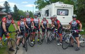 20 Police Bicycle Tour for Charity