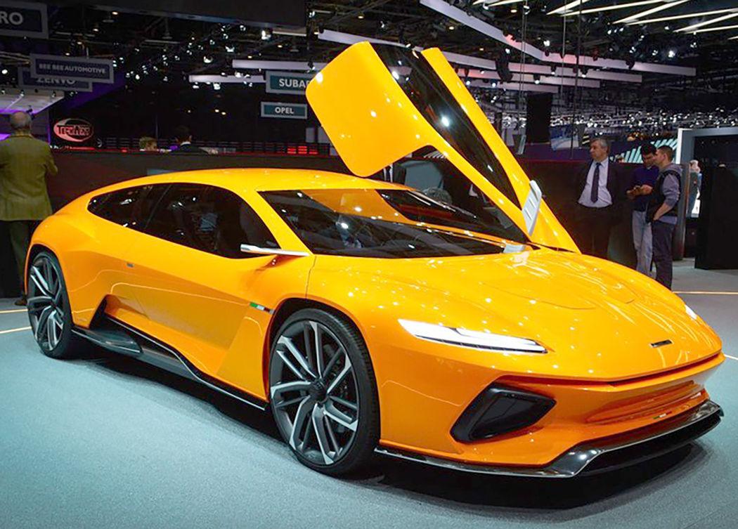 Concept cars of the 2016 Geneva Motor Show: Italdesign Giugiaro GTZero