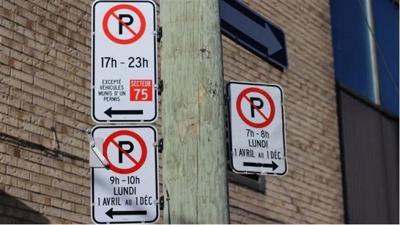 Montreal announces parking rule measures