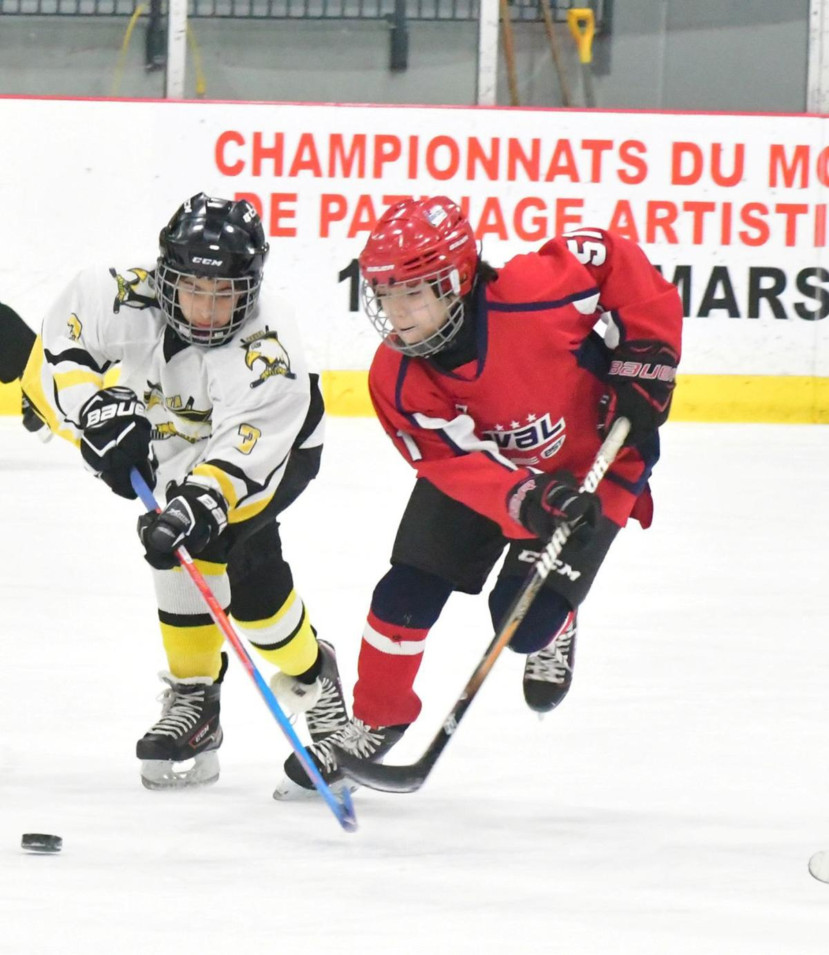 Red-Wings keep on rolling with big win over the Ambassadeurs