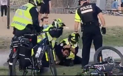 Man violently beaten by Montreal police caught on tape - Mayor reconsiders body cams