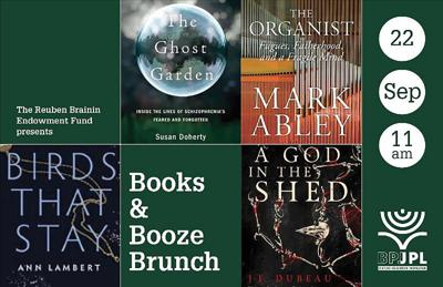 Four Montreal authors in the spotlight at JPL's Books & Booze event Sept. 22