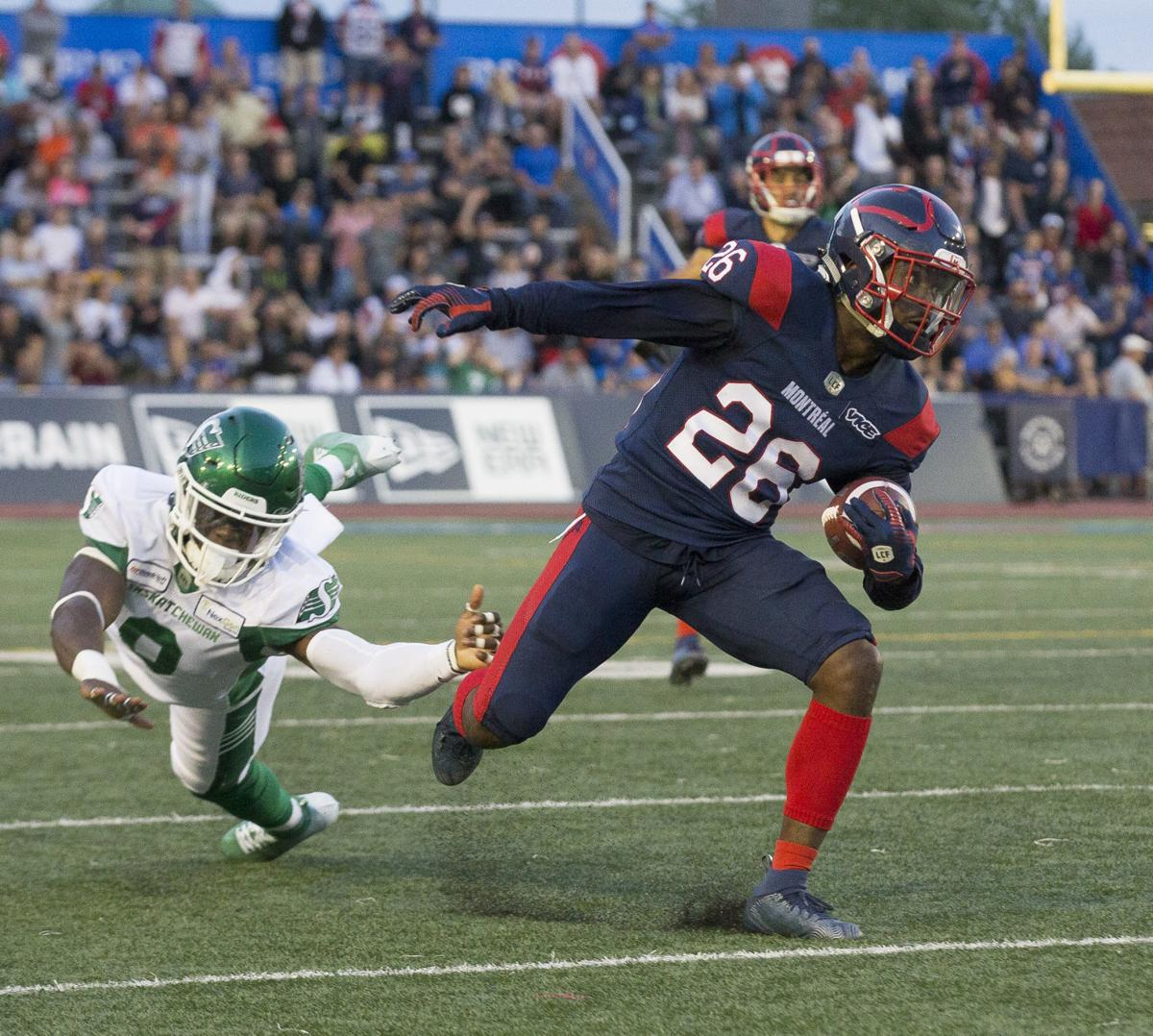 Alouettes thunderstruck in loss to Saskatchewan