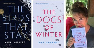 The Dogs of Winter is Ann Lambert's eagerly awaited second book in the Russell and Leduc mystery series