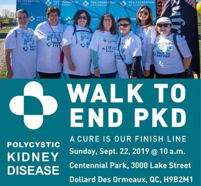 Annual Walk to End PKD takes place Sept. 22 in DDO