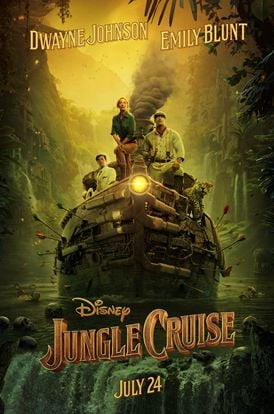 Entertainment: Check out Disney's Jungle Cruise poster and trailer!