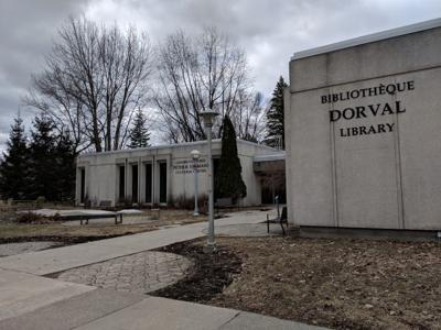 Dorval offers no contact library service