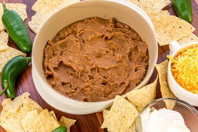 Recipe: Refried bean dip